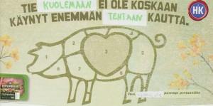 Oppilastyö Kalajärven yläkoulusta. Kuvaaja Eeva Kemppainen.
